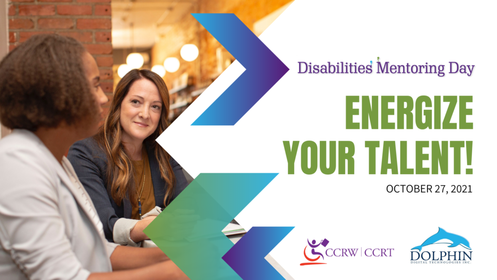 disability mentoring Day - October 27, 2021